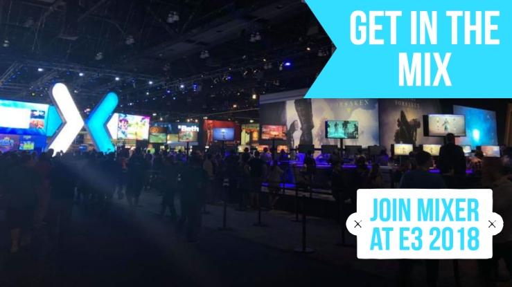 Mixer at E3 Facebook banner